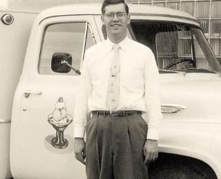 Original delivery truck
