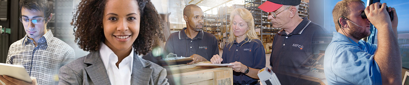 Serco Employees at work