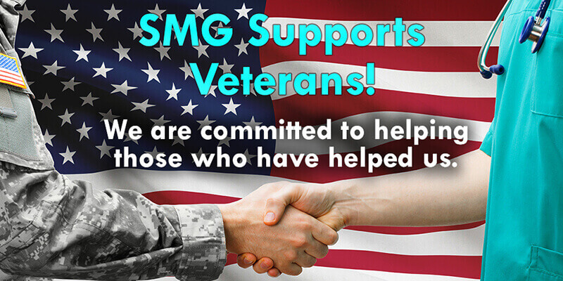 We support Veterans and are committed to helping those who have helped us.