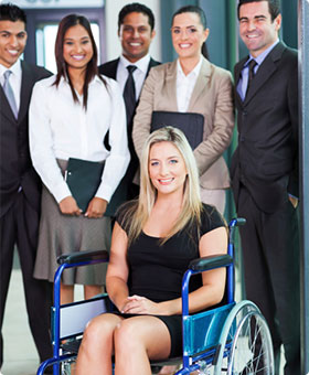 Group of People in Business Professional Clothing
