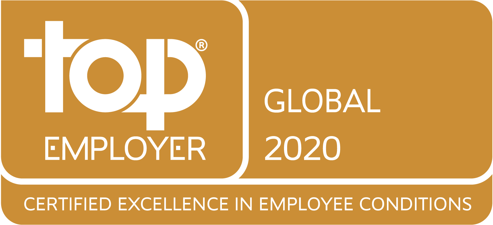 Top Employer Global 2020 - Certified Excellence in Employee Conditions