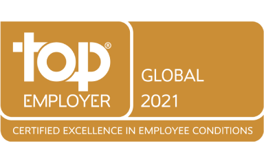 Top Global Employer Certification 2021