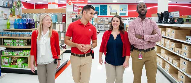 Working at TARGET