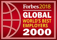 Forbes 2018 Global World's Best Employers Award