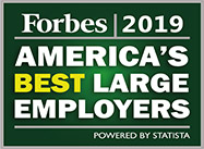 Forbes 2019 America's Best Large Employers Award