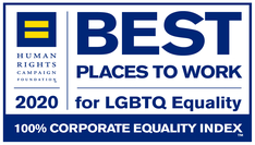2020 Human Rights Campaign Award for Best Places to Work for LGBTQ Equality