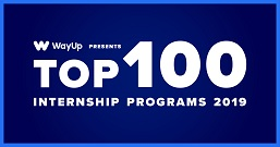 Top 100 Internship Programs 2018 badge