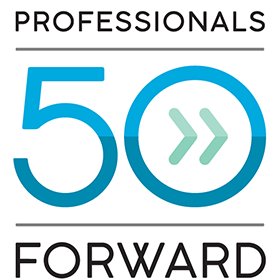 Professionals 50 and Forward Logo