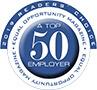 Top fifty employer logo