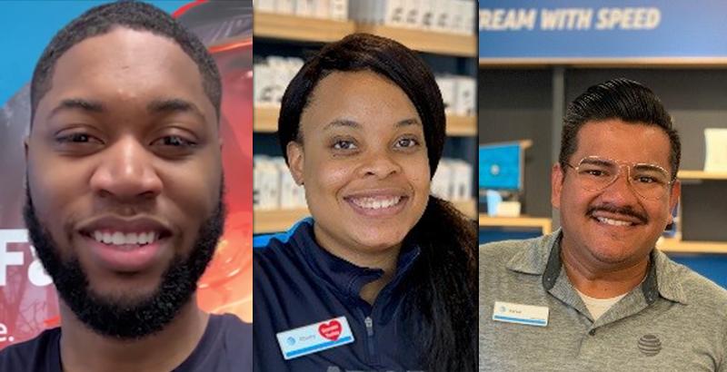 3 employee faces