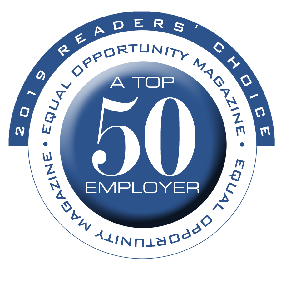2019 - Equal Opportunity Magazine - Top 50 Employers