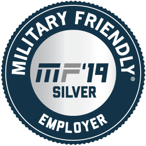 Military Friendly 2019 Top 100 Employer