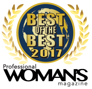 2017 Professional Woman's Magazine - Best of the Best award for Top Diversity Employer and Top LGBT-Friendly Company
