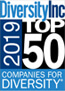 Diversity Inc 2019 Top 50 Companies for Diversity