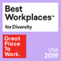 Great Place To Work Best Workplaces for Diversity USA 2019