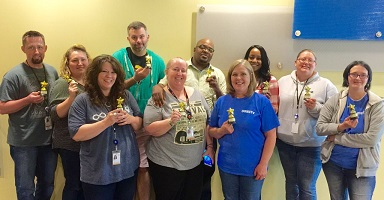 9 ways the Davenport Call Center team turns work into play