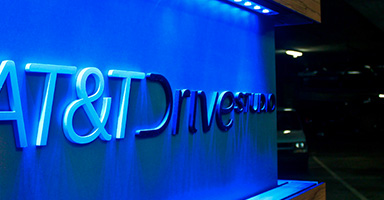 Inside the AT&T Drive Studio