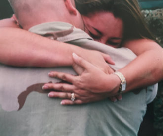 Military Spouses Embrace