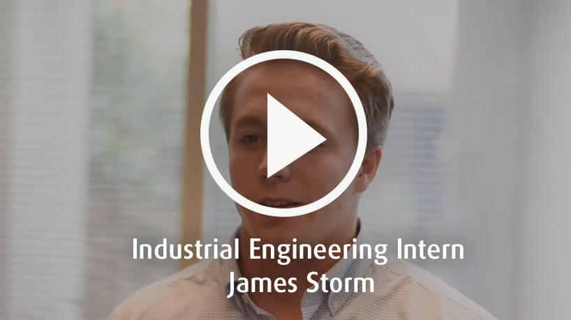 Industrial Engineering Intern James Storm