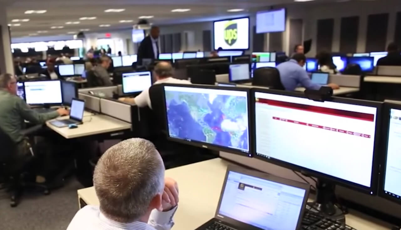 Play Video: Cloud technology helps UPS go the extra mile