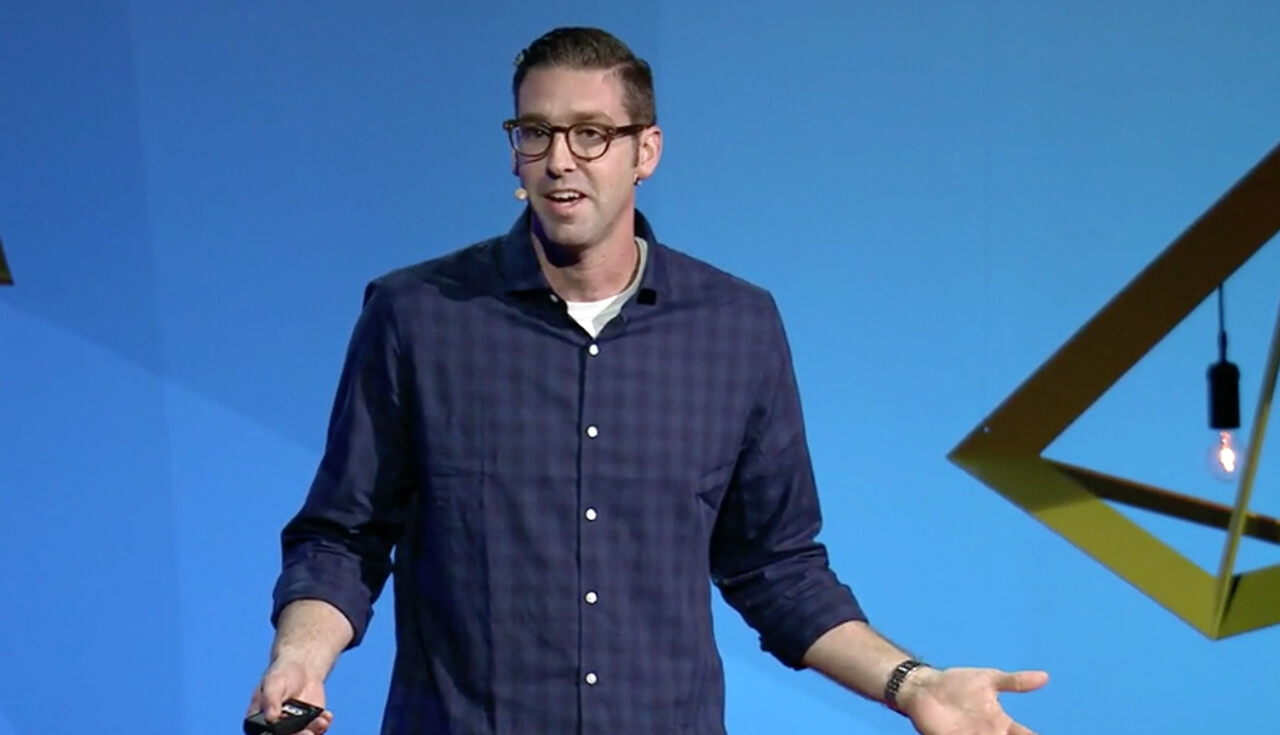 Play Video: We should aim for perfection and stop fearing failure - Speech by Jon Bowers