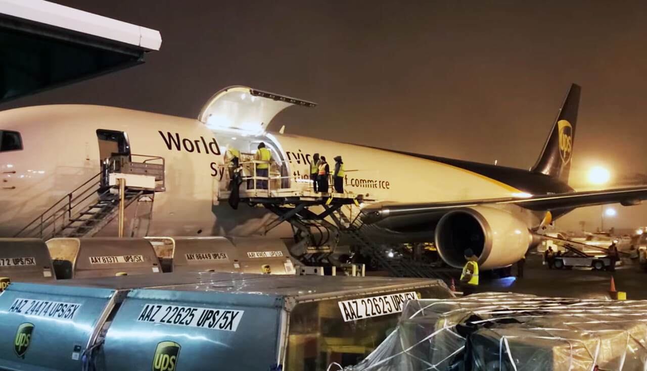 Play Video: UPS Worldport Time Lapse