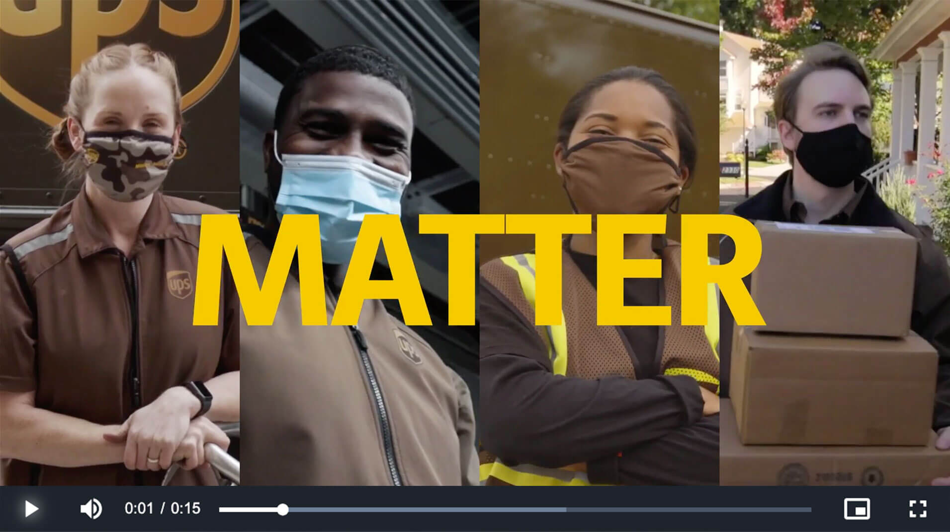 UPS Shift Video