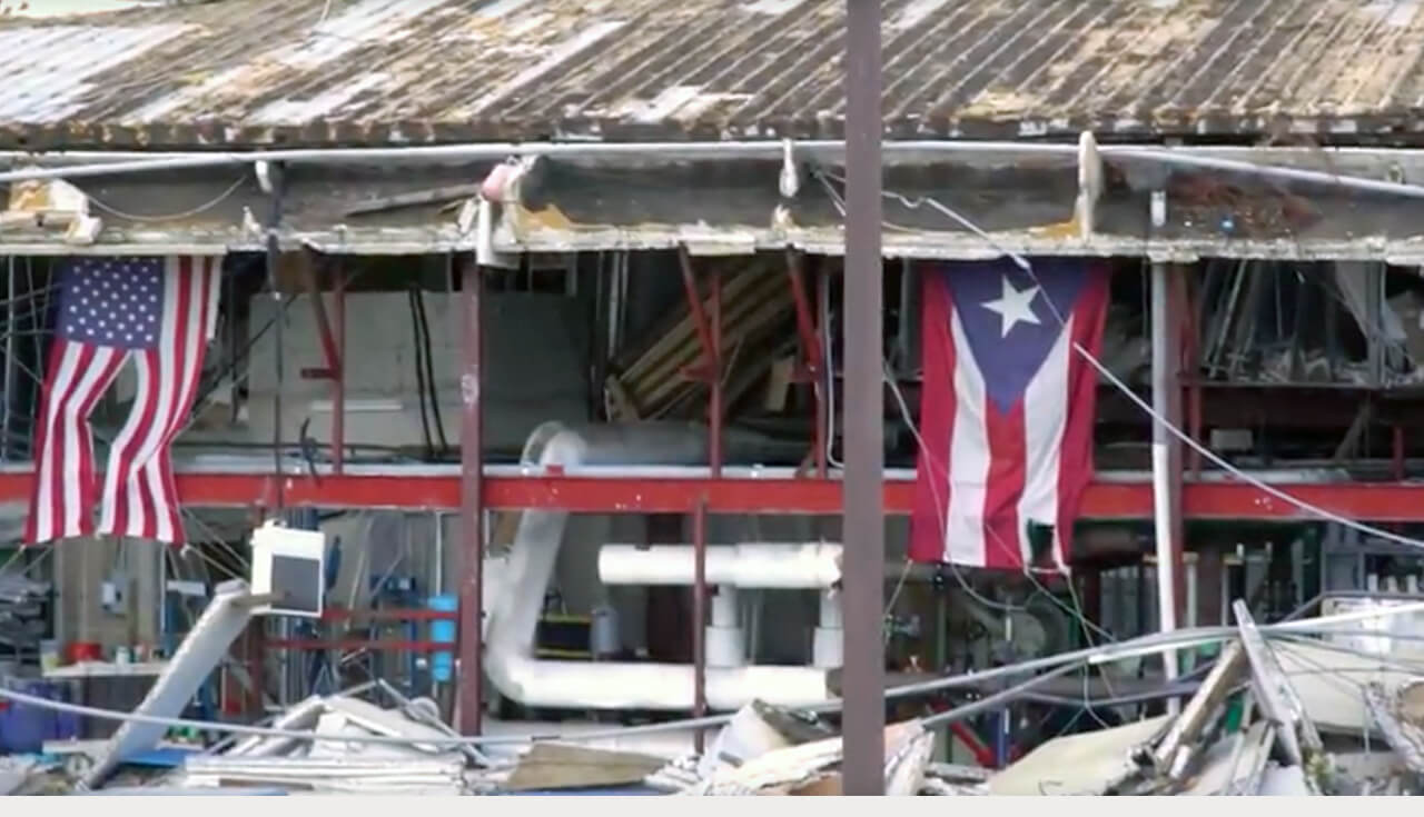 Play Video: Rebuilding after Hurricane Maria