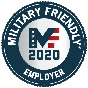 Military Friendly employer 2020