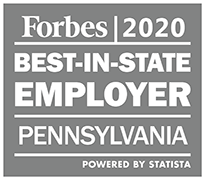 Forbes 2020 Best in state employer - Pennsylvania
