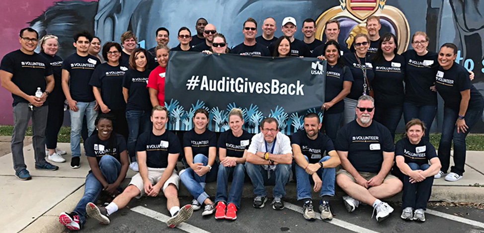 Audit Gives Back