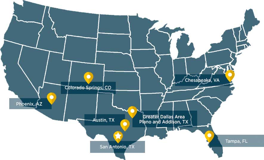 What Is Usaa >> Locations
