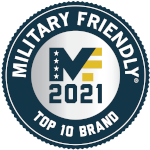 Military Friendly 2020 Gold Top 10 Company