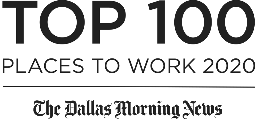 Top 100 Places to work - 2020