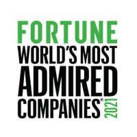 Fortune: World's Most Admired Comapanies 2021