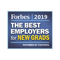 Forbes: The Best Employer for New Grads - 2019