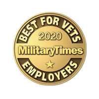 Military Times: Best for Vets Employer - 2020