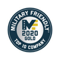 Military Friendly Top 10 Company - 2020