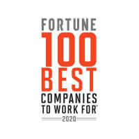 Fortune:  100 Best Companies to Work For - 2020