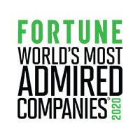 Fortune: World's Most Admired Comapny - 2020