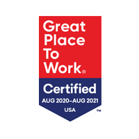 Great Place to Work Certified - August 2020