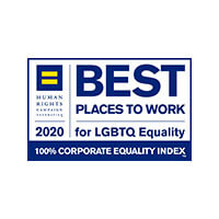 Best Places to Work for LGBTG Equality - 2020
