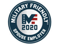 Military Friendly 2020 Spouse Employer