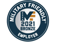 Military Friendly 2021 Bronze Employer Award