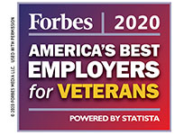 Forbes: Best Employer for Vets 2020