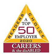 Top 50 employer for disabled