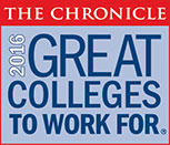 2015 The Chronicle Great Colleges to Work For Honor Role
