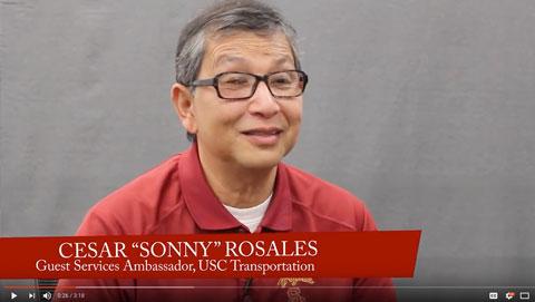 Sonny Rosales: 2016 President's Award winner