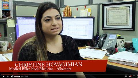 Christine Hovagimian: 2015 Keck Employee of the Year
