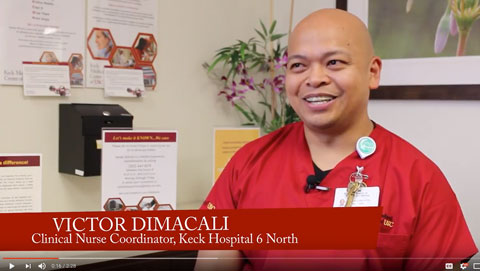 Victor Dimacali: 2015 Keck Medicine Nurse of the Year